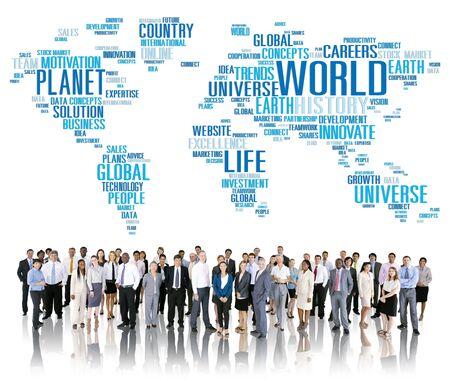 globalization: World Globalization International Life Planet Concept