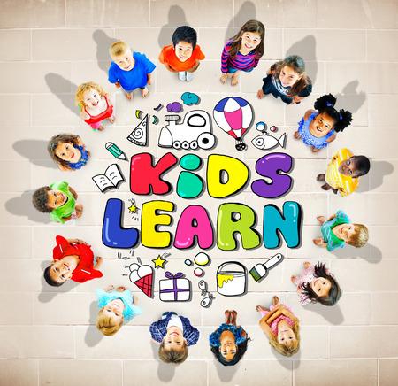 elementary age: Kids Learn Education Creativity Children Ideas Concept