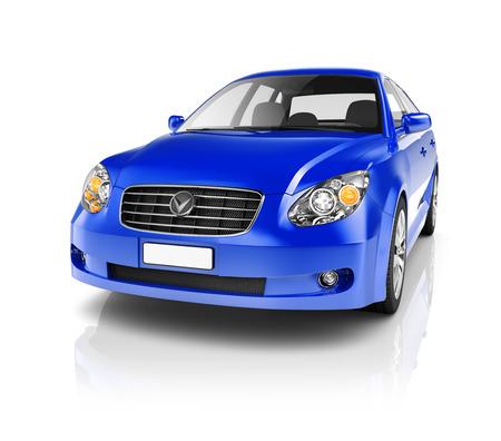 Illustratie van Transport Technology prestaties van de auto Concept