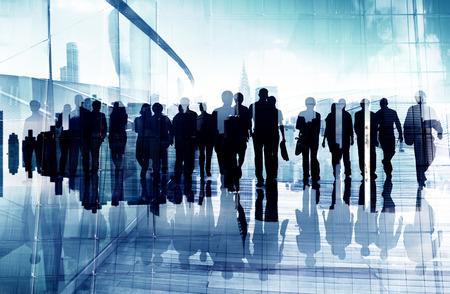 Concepto Etnia Gente de negocios Oficina Oficio con título Foto de archivo - 41210049