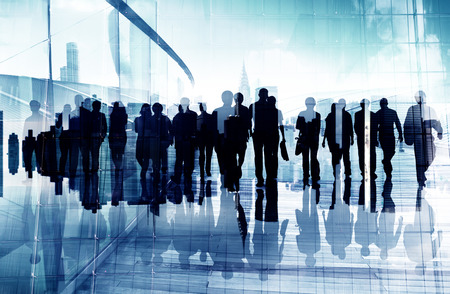 large group of business people: Ethnicity Business People Professional Occupation Office Concept