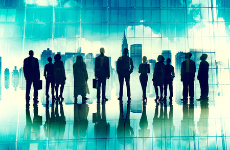 night vision: Global Corporate Business Team Vision Mission Concept