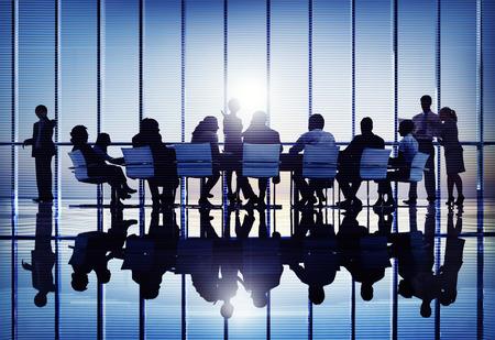 Rencontre Collaboration Séminaire Conférence Business Team Concept Banque d'images - 41210161