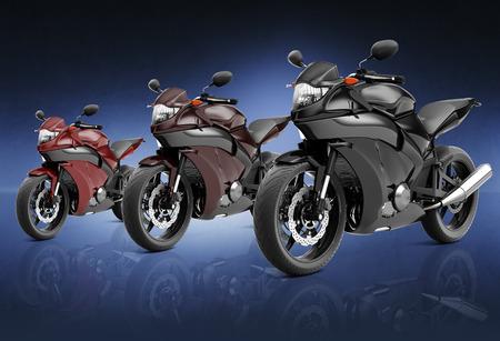 propulsion: Motorcycle Motorbike Bike Riding Rider Contemporary Concept