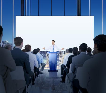 Diversidad Business People Reunión Conferencia Seminario Concepto Foto de archivo - 41210200