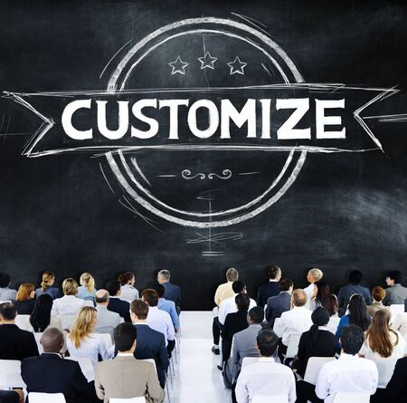 customize: Business People Customize Banner Concept