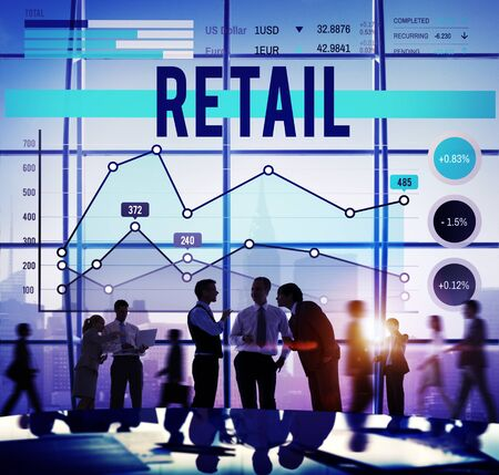 Retail Commerce Sale Selling Business Concept photo