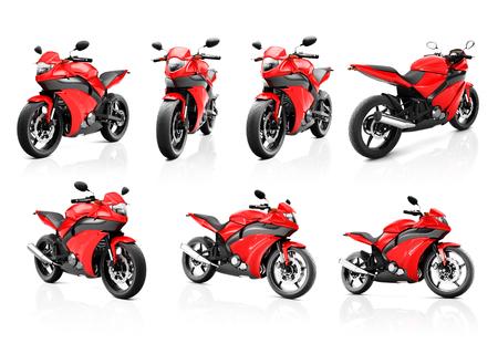 bike riding: Motorcycle Motorbike Bike Riding Rider Contemporary Shiny Concept