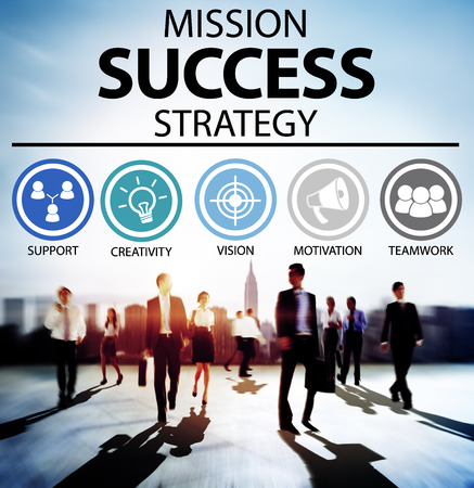 other keywords: Mission Success Strategy Achievement Strategy Concept