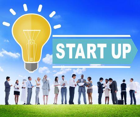 start up: Start Up Ideas Growth Concept