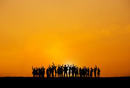 비즈니스 협업 동료 직업 파트너십 팀워크 개념