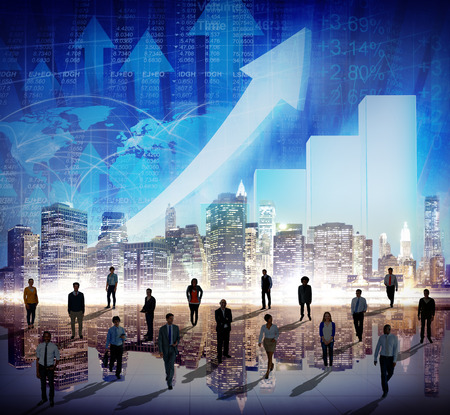 Effectenbeurs Stock Exchange Trading Forex Munt Concept International Stockfoto