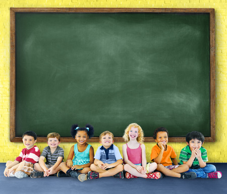 learn: Children Kids Education Learning Cheerful Concept Stock Photo