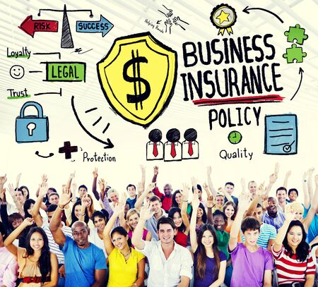 Business Insurance Policy Guard Safety Security Concept photo