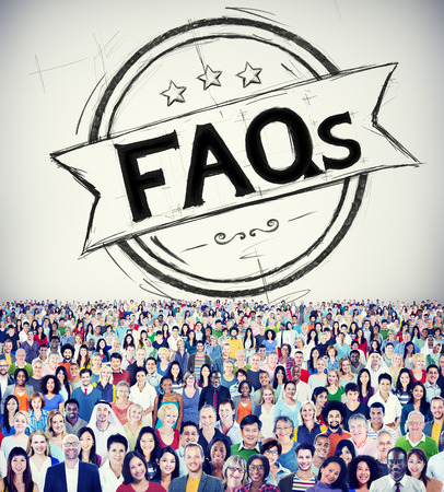 frequently asked questions: Faq Frequently Asked Questions Guidance Explanation Concept