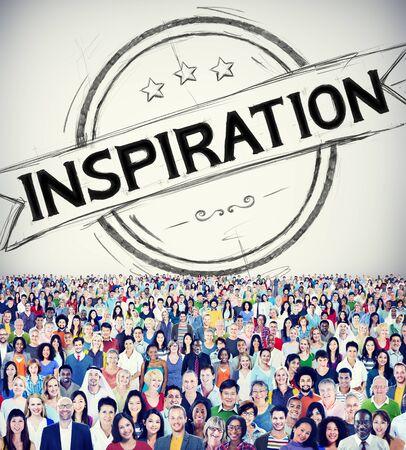 creer: Inspiraci�n Motivaci�n Misi�n Objetivo Believe Concepto Foto de archivo