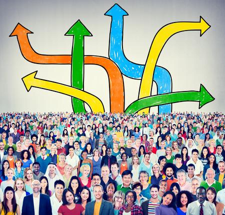 방향 선택 변경 변경 의사 결정의 개념
