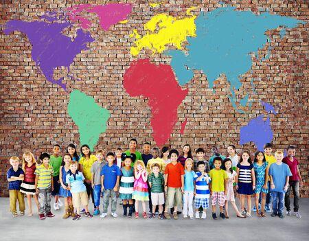 keywords link: World Map Global International Globalisation Concept