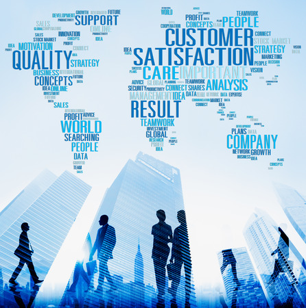 other keywords: Customer Satisfaction Reliability Quality Service Concept Stock Photo
