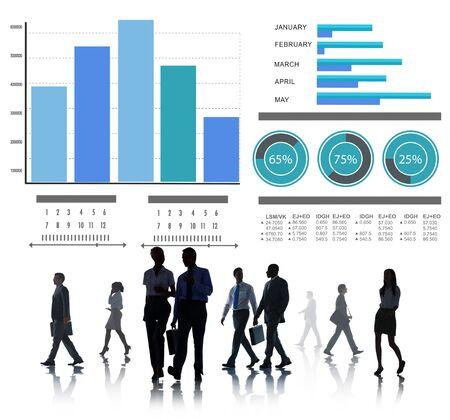 b�roangestellte: Business People Strategy Professional Office Worker-Konzept
