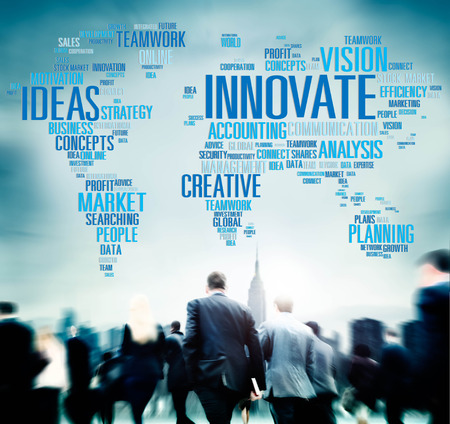 other world: Innovate Ideas Inspiration Invention Creativity Concept