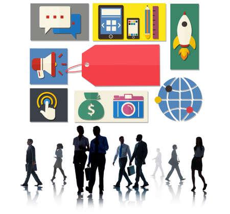 brand identity: Branding Brand Marketing Identity Concept Stock Photo