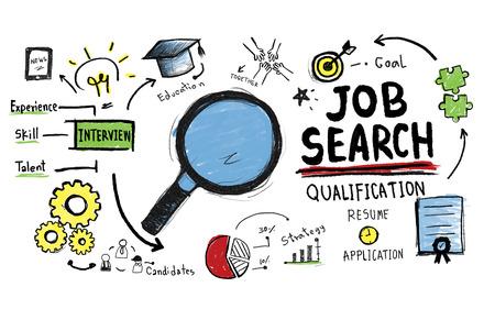 puesto de trabajo: Búsqueda de Empleo Calificación Buscando Concepto Aplicación