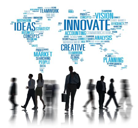 innovating: Innovation Inspiration Creativity Ideas Progress Innovate Concept Stock Photo