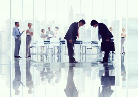 etnia: Business People Corporativos Japon�s Reuni�n Concepto