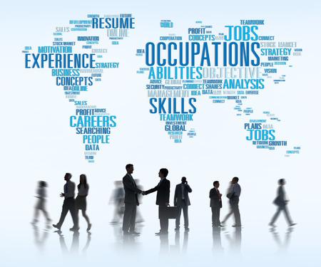 szakvélemény: Foglalkozás Job Karrier Szakértelem Emberi Erőforrások Concept