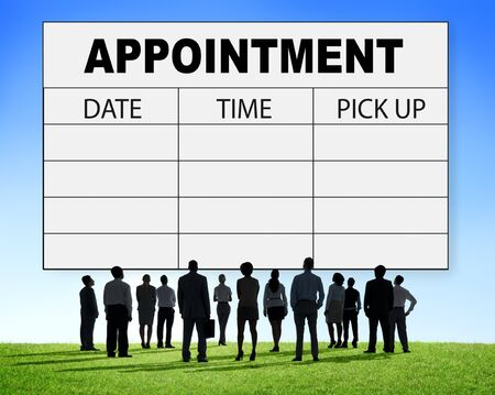 urgency: Appointment Schedule Memo Management Organizer Urgency Concept Stock Photo