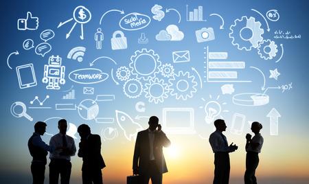 colleague: Business Collaboration Colleague Occupation Partnership Teamwork Concept Stock Photo