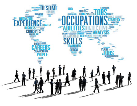 communications tools: Occupation Job Careers Expertise Human Resources Concept