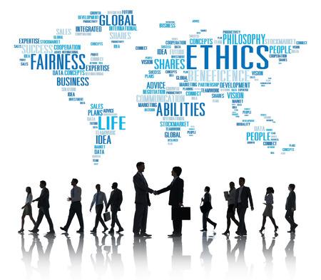 principles: Ethics Ideals Principles Morals Standards Concept