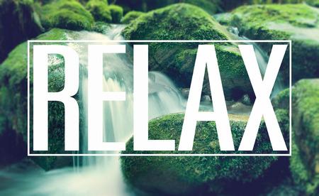 relaxamento: Relaxe Chilling Prazer Vida de descanso férias Concept