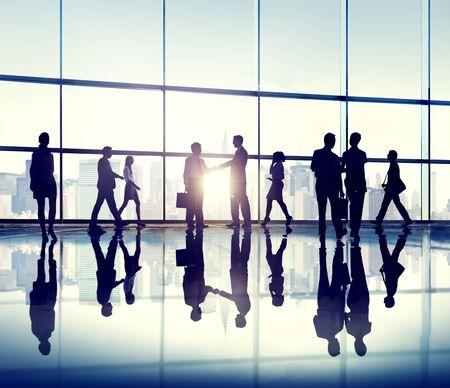 ufficio aziendale: Business People Meeting Seminar Corporate Office Concept