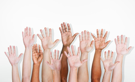 Hands Diverse Diversity Ethnic Ethnicity Variation Unity Concept Stock Photo - 41323289