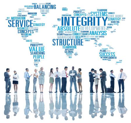 sincerity: Integrity Honesty Sincerity Trust Reliability Concept