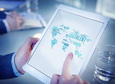 szakvélemény: Talent Expertise Genius Skills Professional Concept