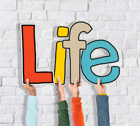 signos vitales: Life Alive Ser Breath Existe Concept Nacimiento