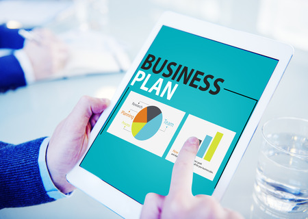 place to learn: Business Plan Strategy Planning Information Statistics Concept