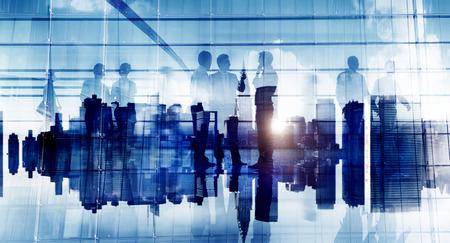 Business People Communication Corporate Office Discussion Planning Concept Foto de archivo
