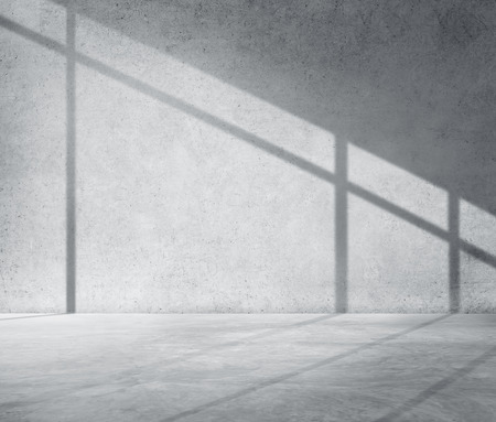 cement texture: Concrete Room Corner Shadow Cement Wallpaper Concept