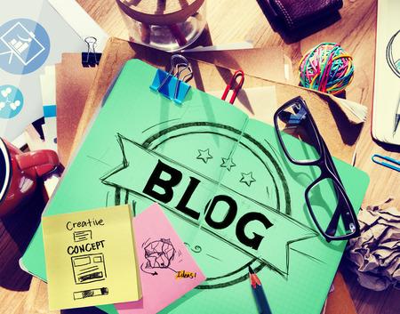 designer labels: Blog Blogging Online Design Web Page Website Concept