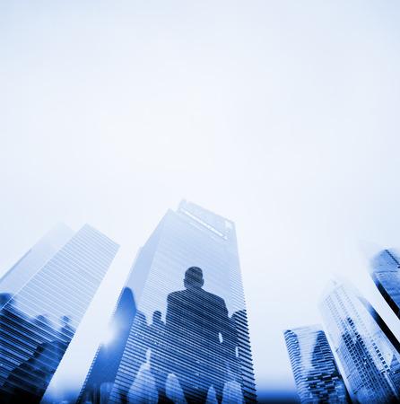 Gente de negocios Hora punta Corta De trayecto City Concepto Foto de archivo - 41332565