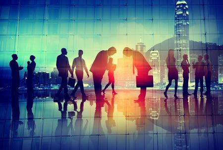 Respeto Cultura de negocios japonés Concepto Corporativa