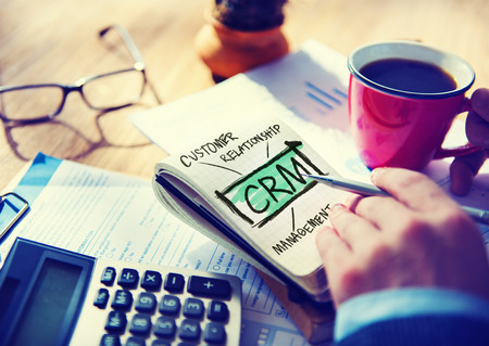 business service: Business Customer CRM Management Analysis Service Concept
