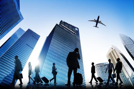 confident man: Business Aircraft Cityscape Architecture Building Business Metropolis Concept