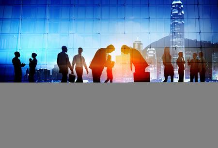 corporate culture: Japanese Culture Respect Business People Corporate Concept