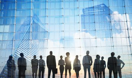 Business People Inspiration Goals Mission Growth Success Concept Standard-Bild